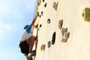 Taller de escalada en el Parque de los Toruños