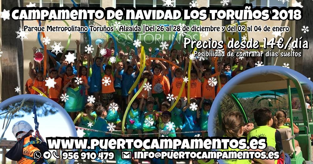 Campamento de navidad Los Toruños 2018