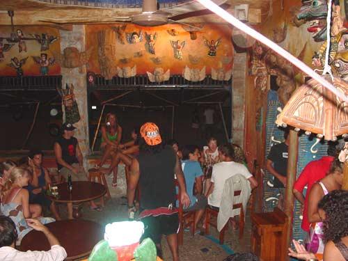 Casa Babylon Bar in Puerto Escondido