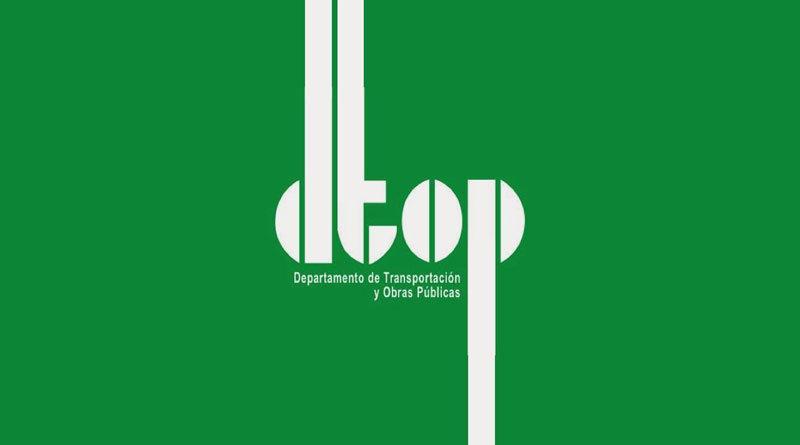 DTOP, Departamento de Transportación y Obras Públicas