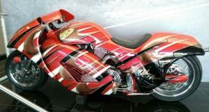 arlen ness streamlined motorcycle