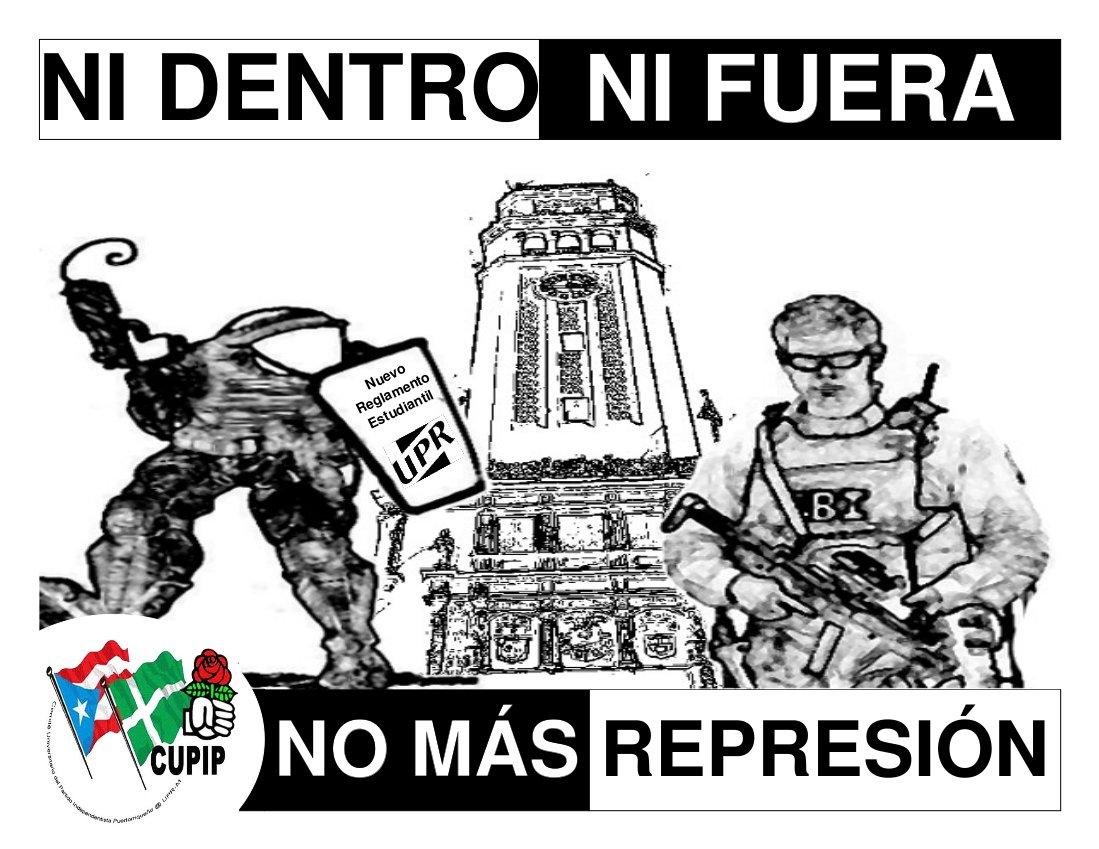 NO MÁS REPRESIÓN