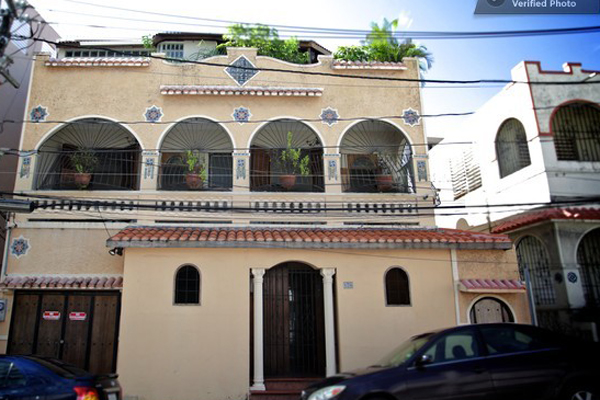 Suites are in a typical 'Santurce House' with typical mosaics is in San Juan's Arts District.