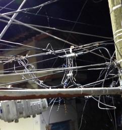 wires near my condo balcony in puerto vallarta [ 4000 x 2248 Pixel ]