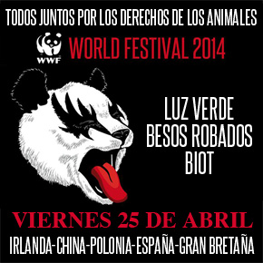 Together We'll Stand For Animal Rights - World Festival 2014 en Barcelona