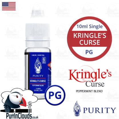 Purity Kringles Curse E-Liquid PG 10ml   Puffin Clouds UK