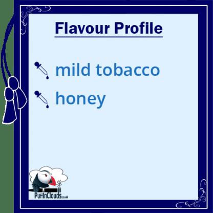 Cuttwood Tobacco Trail E-Liquid - Flavour Profile