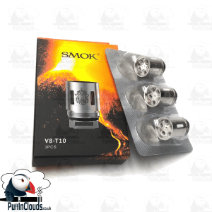 SMOK V8 T10 Coils (3 Pack) | Puffin Clouds UK