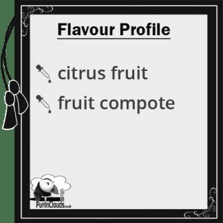 Wick Liquor Contra E-Juice - Flavour Profile