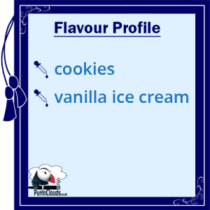 eVo Cookie Karma E-Liquid - Flavour-Profile