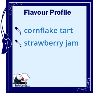 Dinner Lady Cornflake Tart eLiquid - Flavour Profile