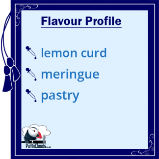 Dinner Lady Lemon Tart eLiquid - Flavour Profile