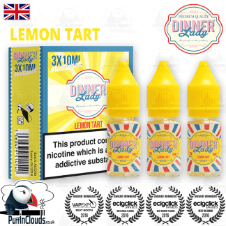 Dinner Lady Lemon Tart eLiquid