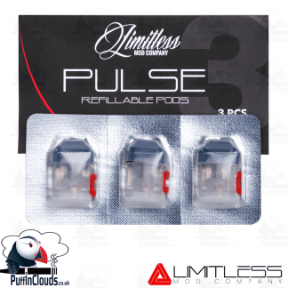 Limitless Pulse Refillable Pods (3 Pack)