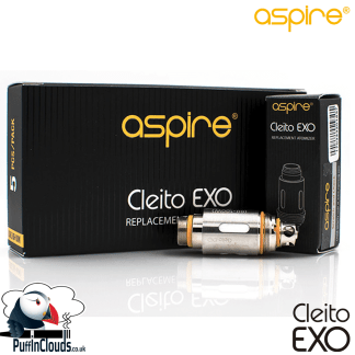 Aspire Cleito EXO Coils 0.16 Ohms | Puffin Clouds UK