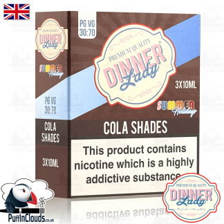 Dinner Lady Cola Shades E-Liquid | Puffin Clouds