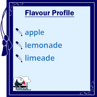 IVG Apple Dazzle E-Liquid - Flavour Profile | Puffin Clouds UK
