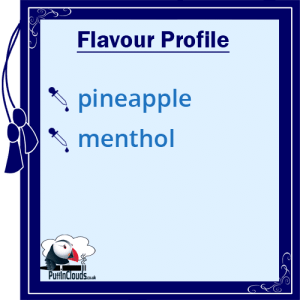 I Love VG Pineapple Blast E-Liquid - Flavour Profile | Puffin Clouds UK