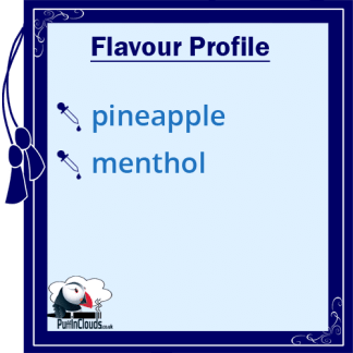 IVG Pineapple Blast E-Liquid - Flavour Profile | Puffin Clouds UK