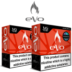 eVo E-Liquids at Puffin Clouds UK
