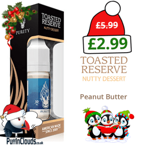 Purity Toasted Reserve E-Liquid 12mg (10ml Single Bottle)