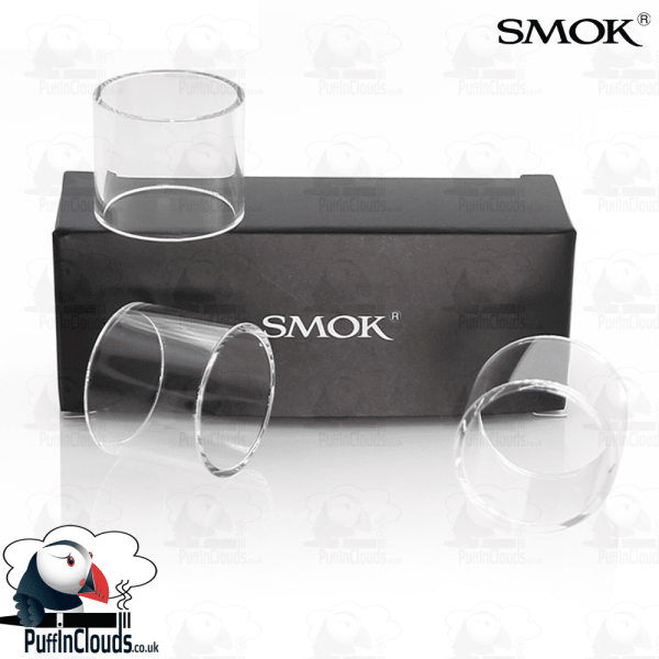 SMOK TFV8 Baby Replacement Glass (3 Pack)   Puffin Clouds UK