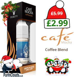 Purity Cafe Mocha E-Liquid 3mg (10ml Single Bottle)