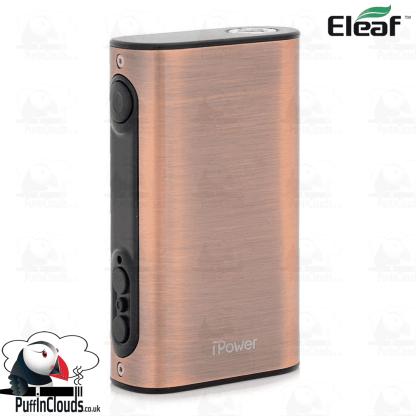 Eleaf iStick Power 80W Mod - Bronze   Puffin Clouds UK