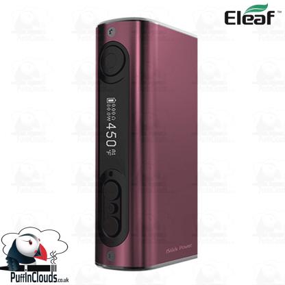 Eleaf iStick Power 80W Mod - Brushed Wine   Puffin Clouds UK