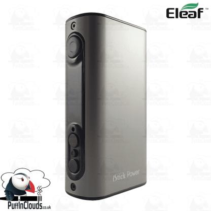 Eleaf iStick Power 80W Mod - Grey   Puffin Clouds UK