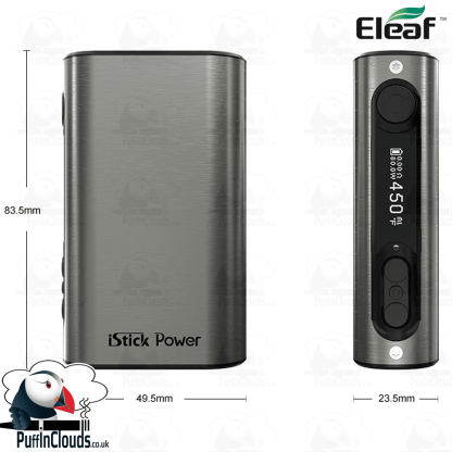 Eleaf iStick Power 80W Mod   Puffin Clouds UK