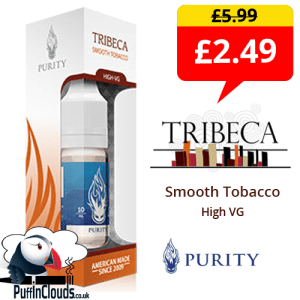 Purity Tribeca High VG 12mg (10ml Single Bottle) | Puffin Clouds Ltd