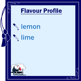 Ohm Brew Lemon & Lime Lolly Nic Salt E-Liquid Flavour Profile | Puffin Clouds UK
