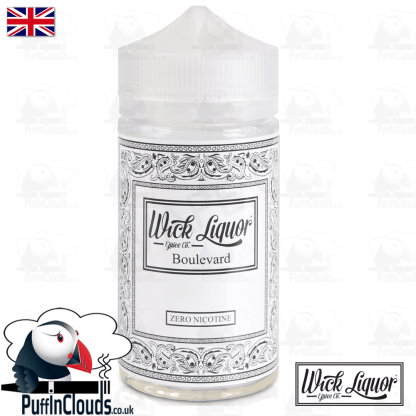 Wick Liquor Boulevard Short Fill (150ml) | Puffin Clouds UK