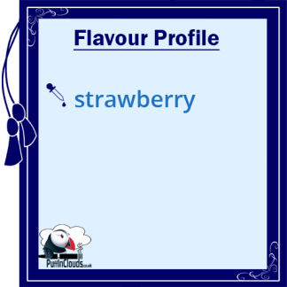 Ohm Brew Strawberry Storm Nic Salt E-Liquid 50/50 | Puffin Clouds UK
