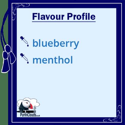 IVG Blueberry Crush Short Fill E-Liquid 50ml Flavour Profile | Puffin Clouds UK