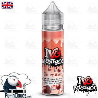 IVG Cherry Wave Short Fill E-Liquid 50ml | Puffin Clouds UK