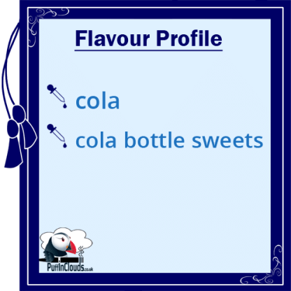 IVG Cola Bottles Short Fill E-Liquid 50ml Flavour Profile | Puffin Clouds UK