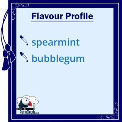 IVG Spearmint Millions Short Fill E-Liquid 50ml Flavour Profile | Puffin Clouds UK