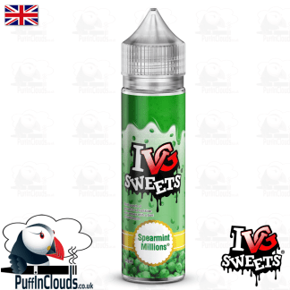 IVG Spearmint Millions Short Fill E-Liquid 50ml | Puffin Clouds UK