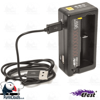 Efest Xsmart Vaping Battery Charger (USB) | Puffin Clouds UK