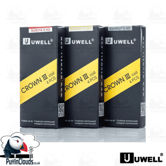 Uwell Crown 3 Coils (4 Pack) | Puffin Clouds UK