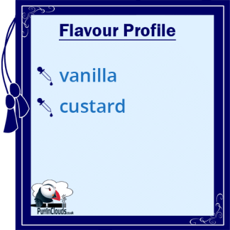 Atomic Vanilla Custard Shake n Vape E-Liquid (50ml 0mg) | Puffin Clouds UK