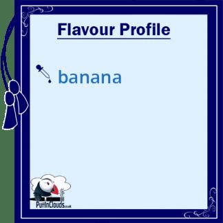 P.U.R.E Banana Shake n Vape E-Liquid (50ml 0mg)   Puffin Clouds UK