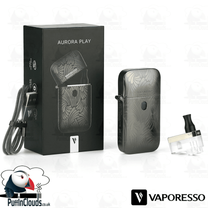 Vaporesso Aurora Play Pod Kit - What's Included | Puffin Clouds UK