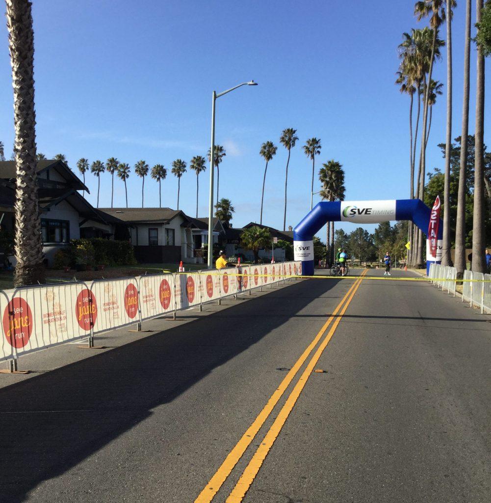 race starting chute