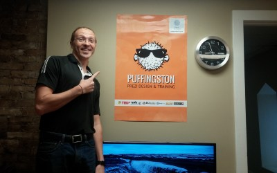 All Aboard the Puffingston Express – Welcoming Lawrence to the Team!