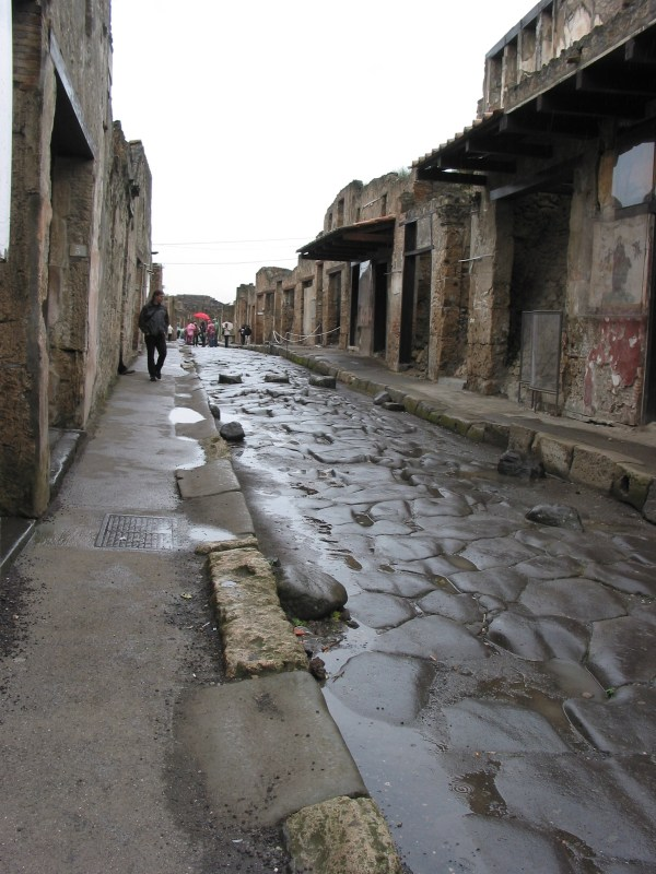 Visiting Ancient Pompeii With Indiana Bones