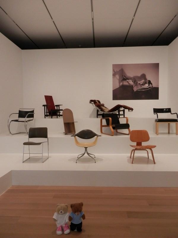 Chair Exhibit Chicago Art Institute