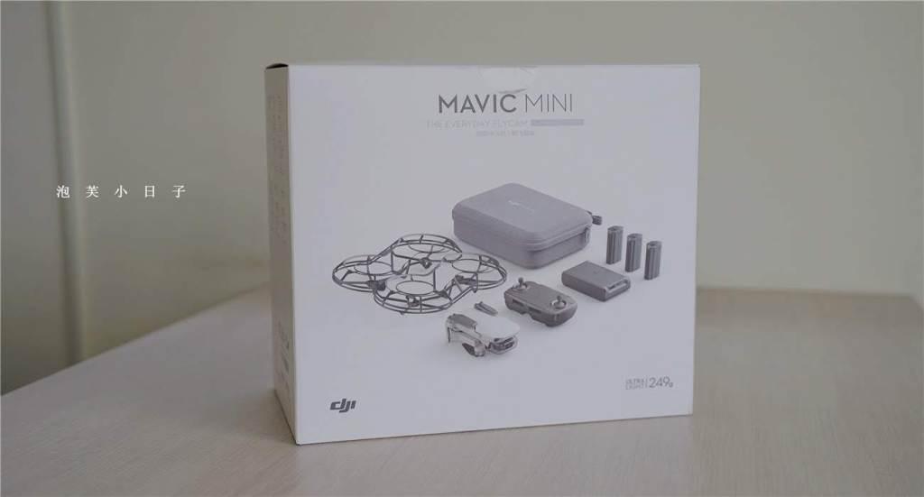 dji mavic mini 包裝盒正面